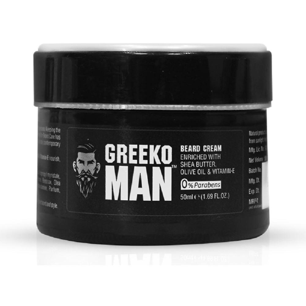 Greeko Man Beard Cream (50ml)