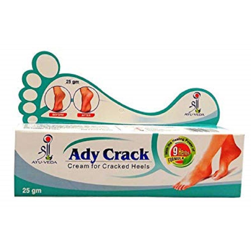 Laborate Pharma Ady Crack Cream For Cracked Heels (25g, Pack of 5)