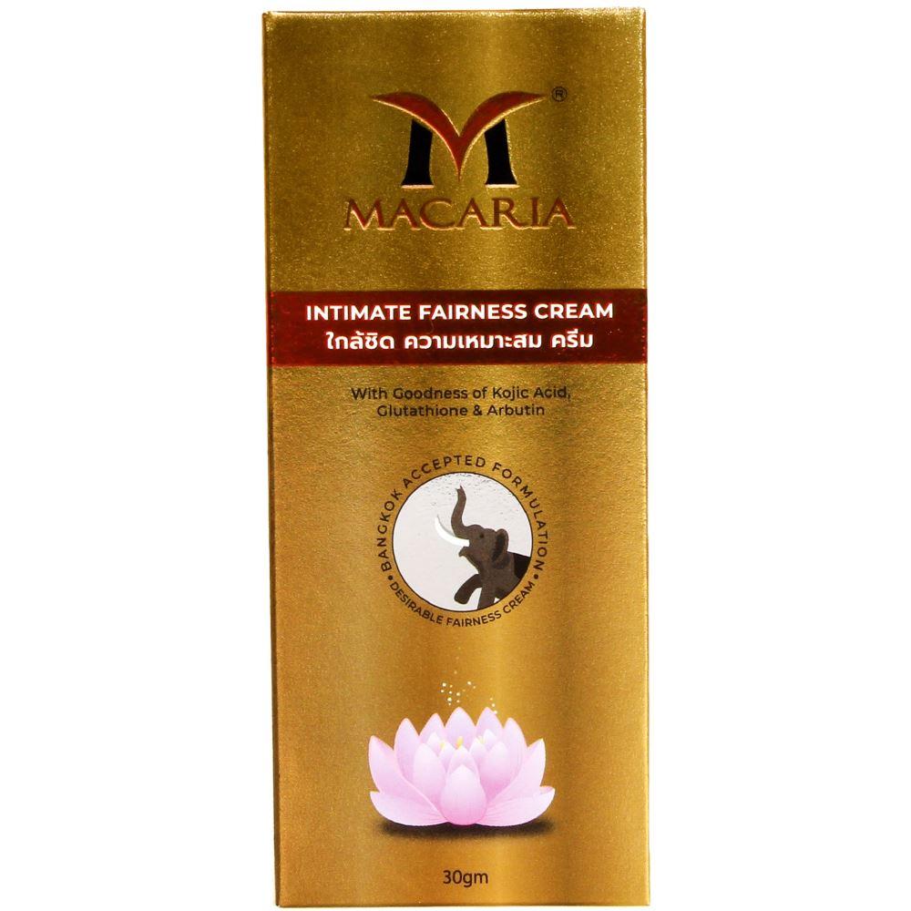 Macaria Intimate Fairness Cream {Bb Foundation Cream For Full Body Skin Whitening} (30g)