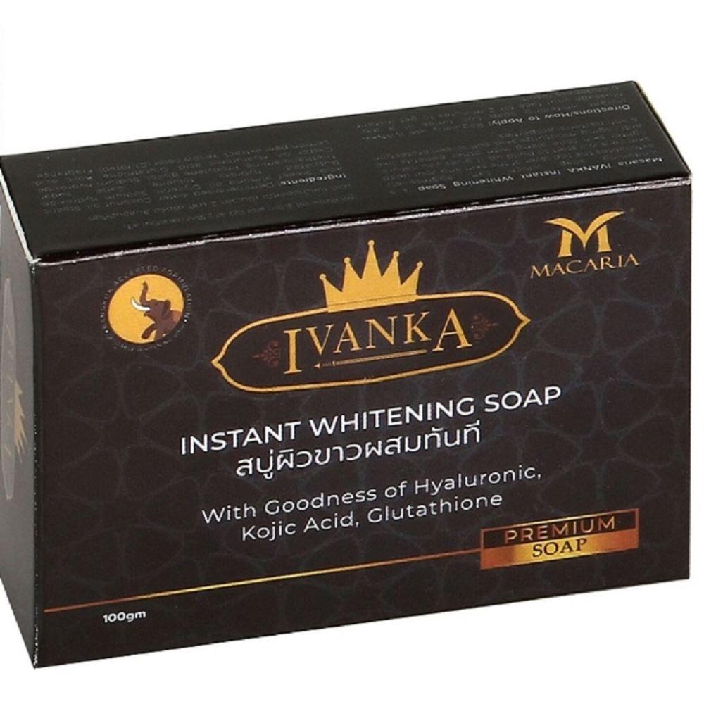 Macaria Ivanka Instant Whitening Soap {Lemon And Ginger Beauty Soap} (100g)