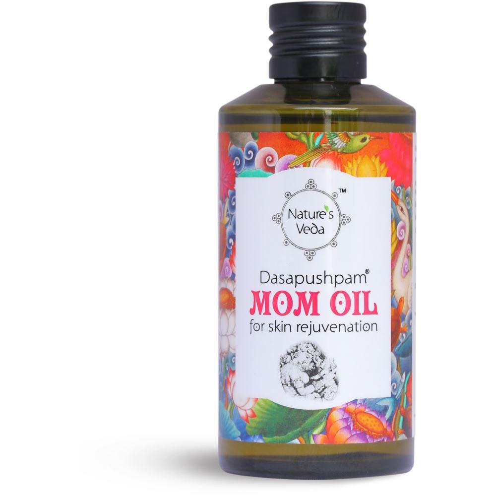 Nature's Veda Dasapushpam Mom Oil (150ml)