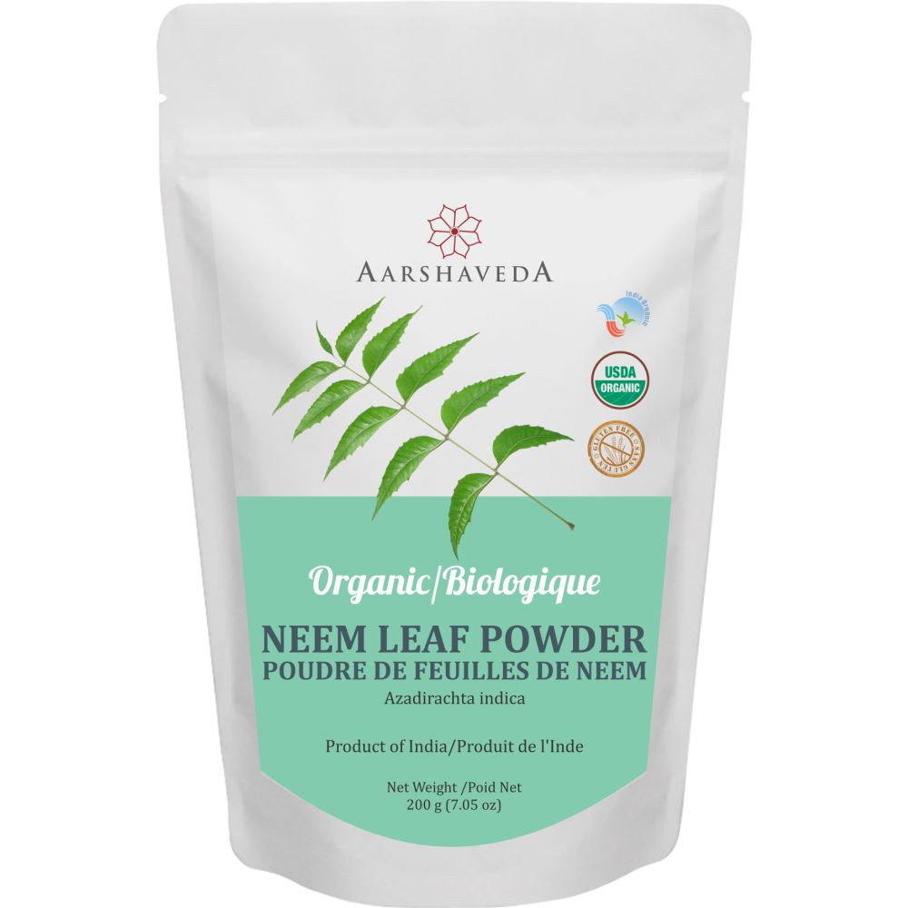 Aarshaveda Neem Powder Organic (200g)