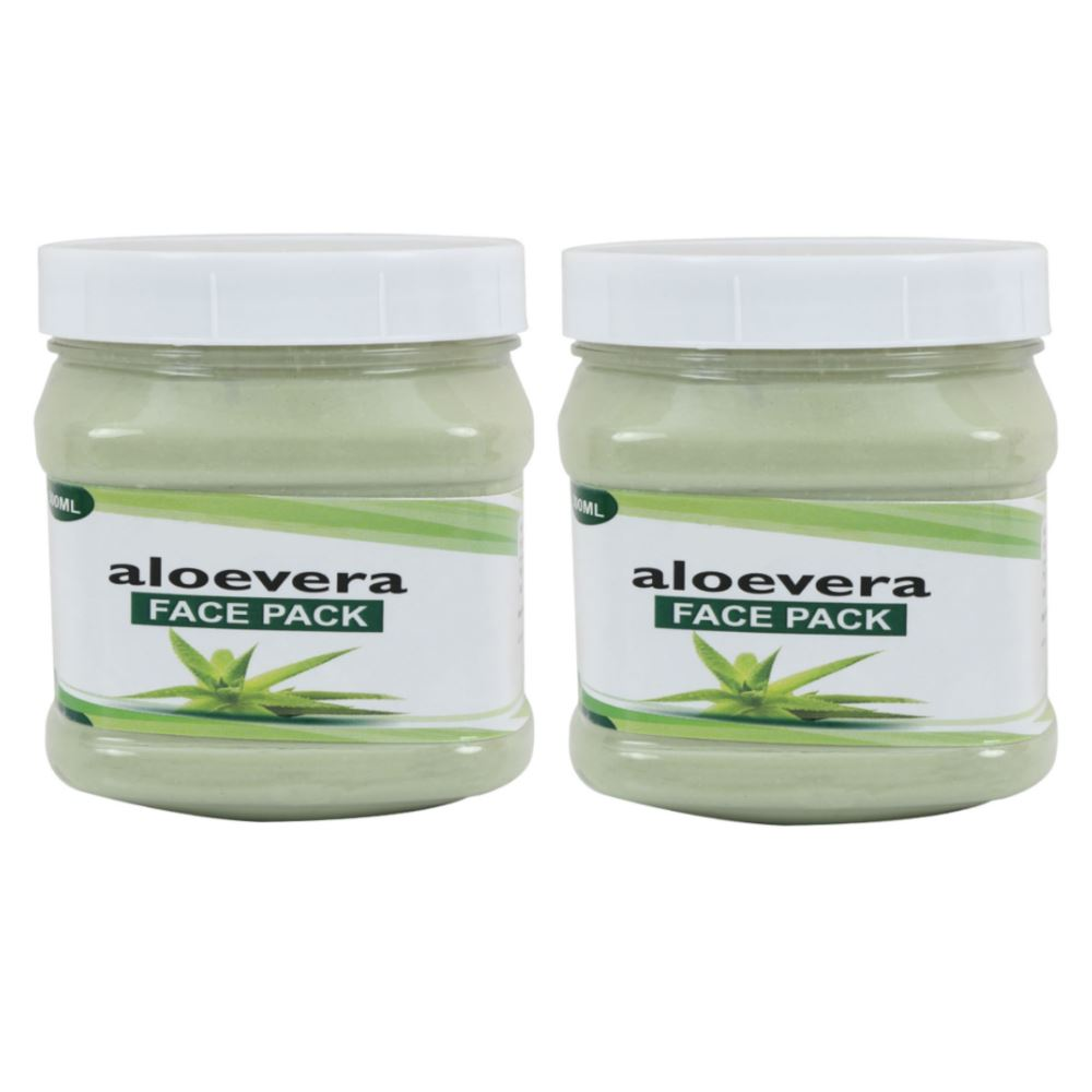 Indirang Aloevera Face Pack (500ml, Pack of 2)