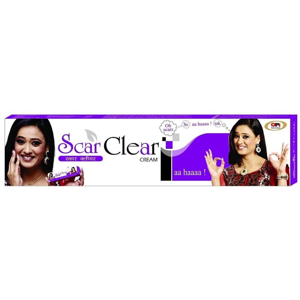 Aqua Herbals & Cosmetics Scar Clear Cream With Haldi,Chandankesar & Gulab (25g)