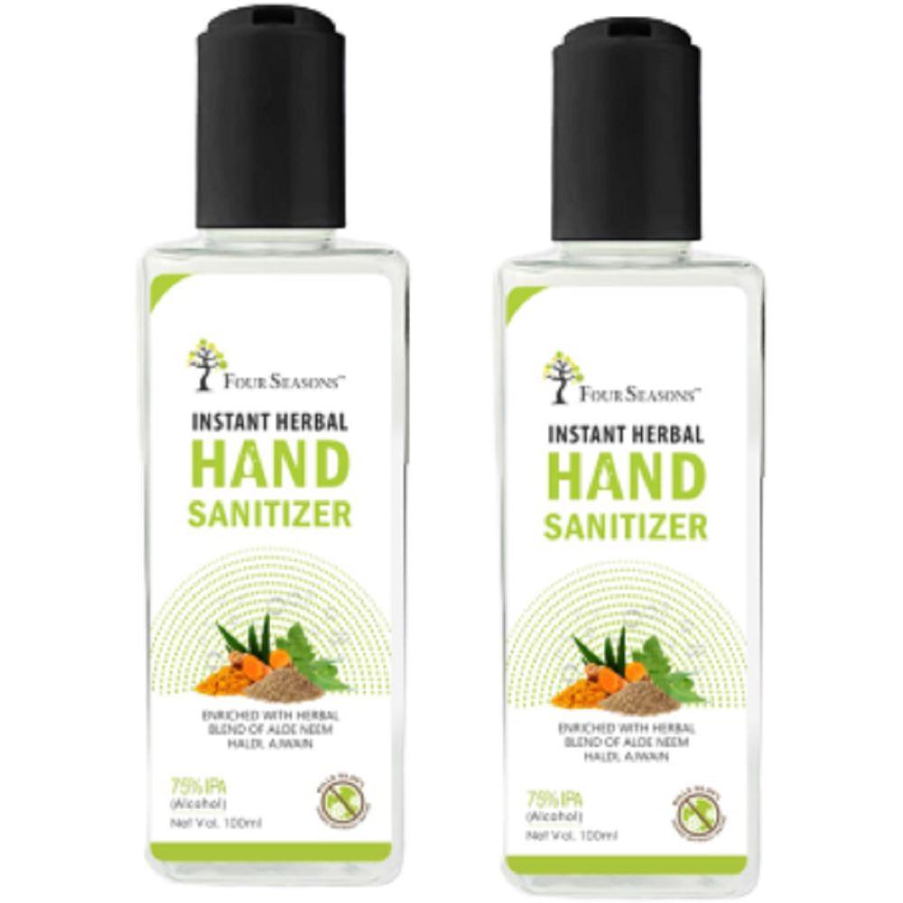 Four Seasons Hand Sanitizer (100ml, Pack of 2)