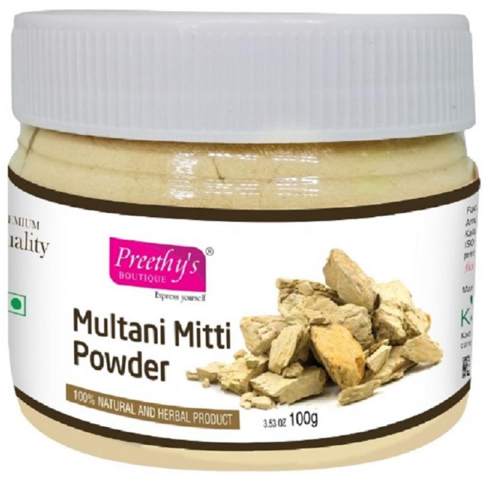 Preethy's Boutique Premium Quality Multani Mitti Powder (100g)