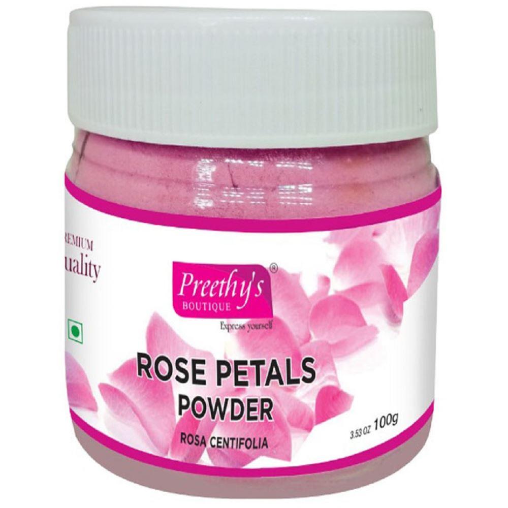 Preethy's Boutique Premium Quality Rose Petal Powder (100g)