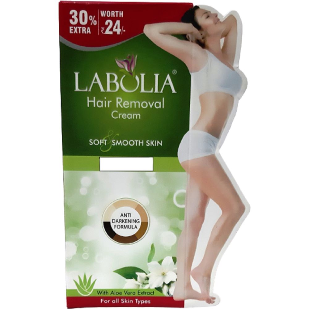 Labolia Hair Removal Cream Soft & Smooth Skin (50g, Pack of 3)