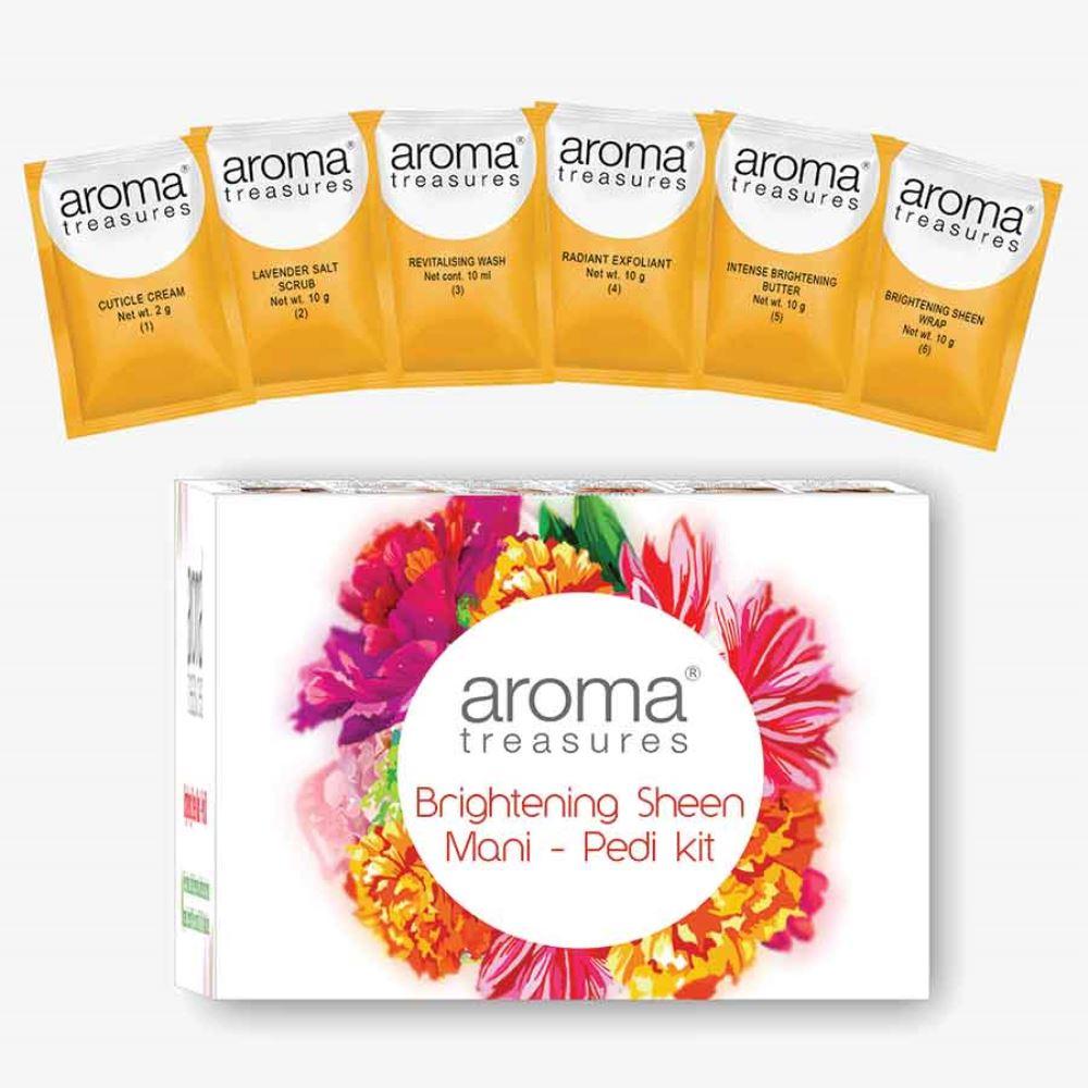 Aroma Treasures Brightening Sheen Mani Pedi Kit (52g)