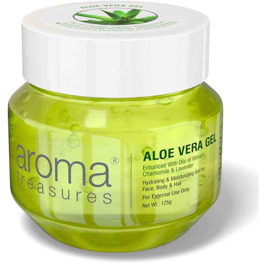 Aroma Treasures Aloe Vera Gel (125g)
