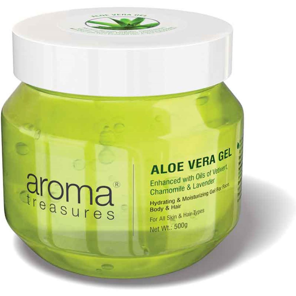 Aroma Treasures Aloe Vera Gel (500g)