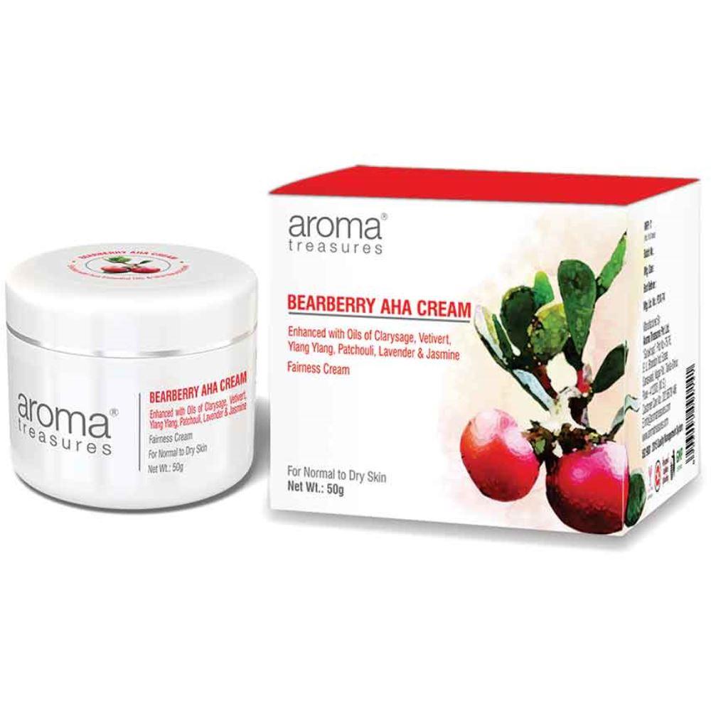 Aroma Treasures Bearberry Aha Cream (50g)