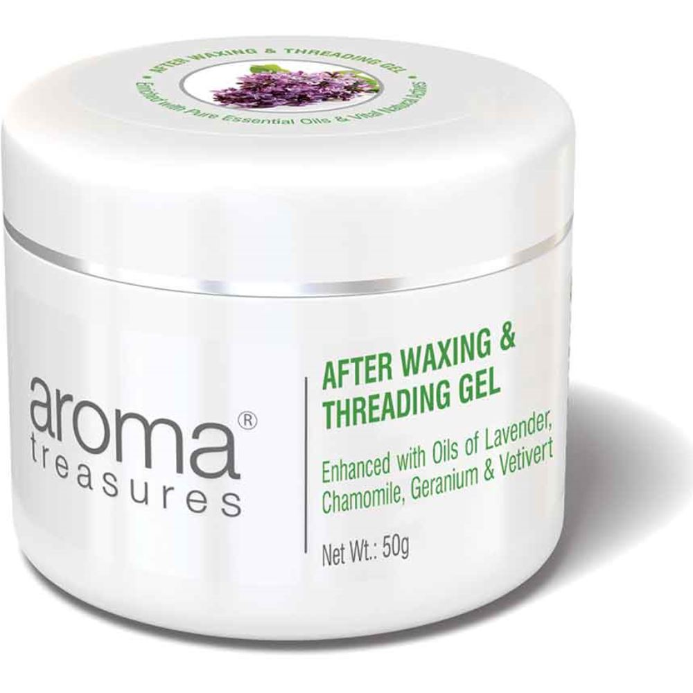 Aroma Treasures After Waxing & Threading Gel (50g)