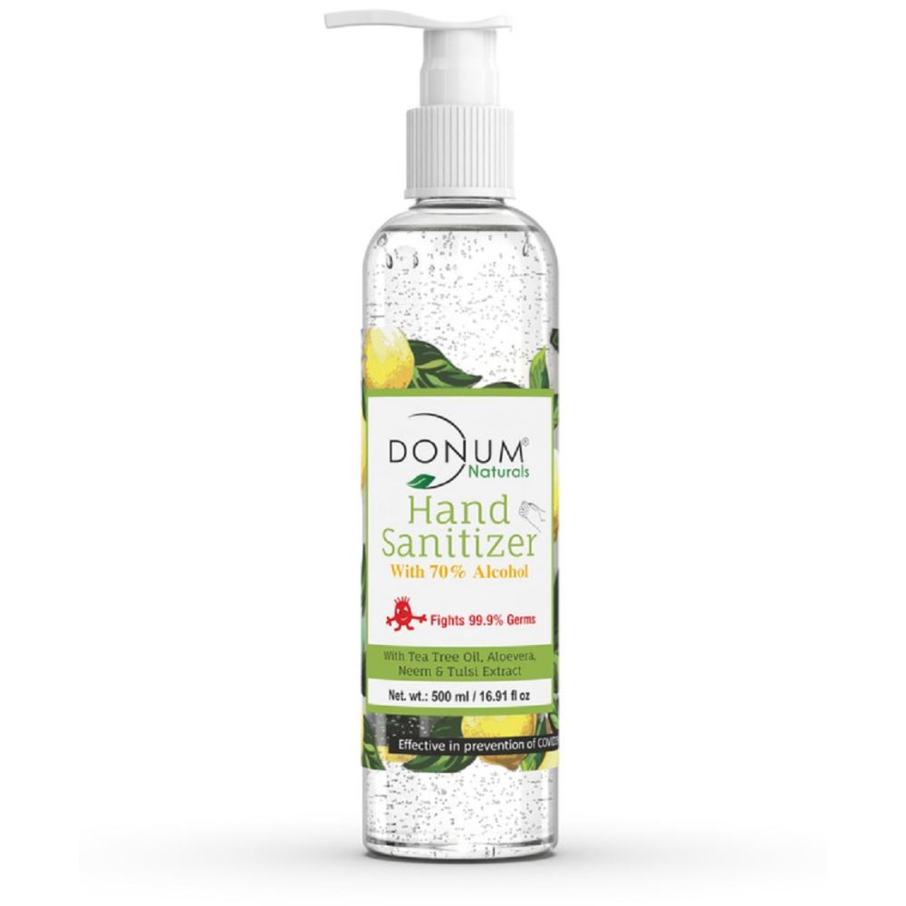 Donum Naturals Alcohol Based Hand Sanitizer Gel (500ml)
