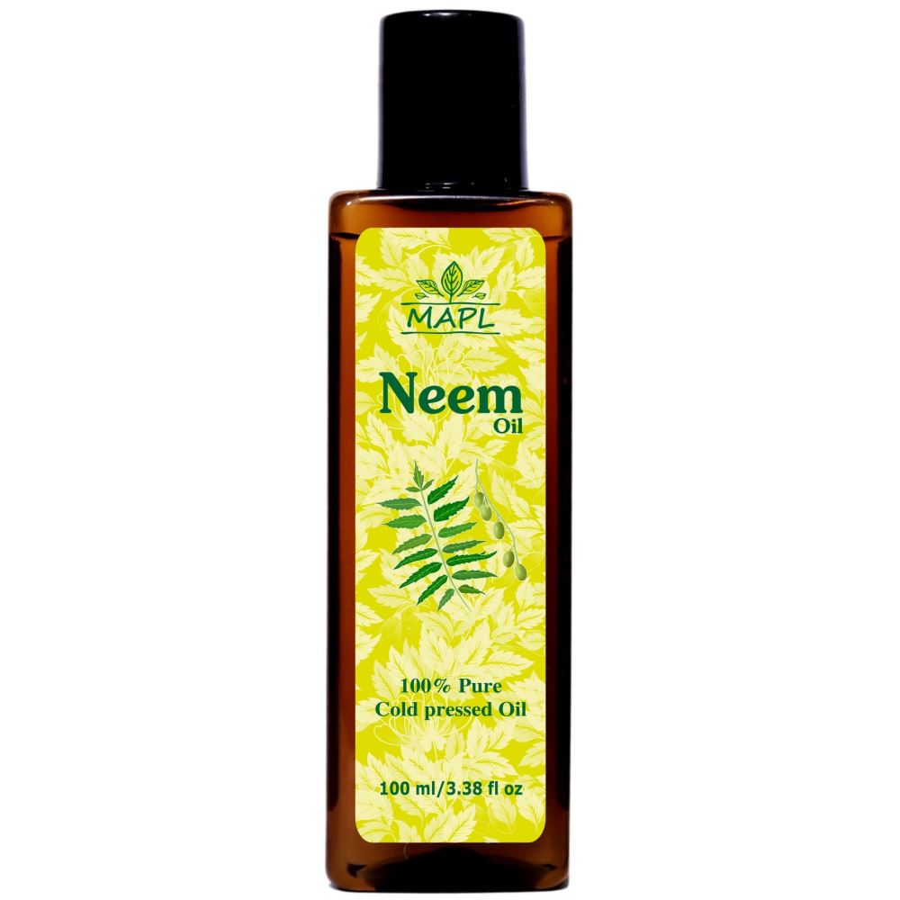 Mapl Cold Press Neem Oil (100ml)
