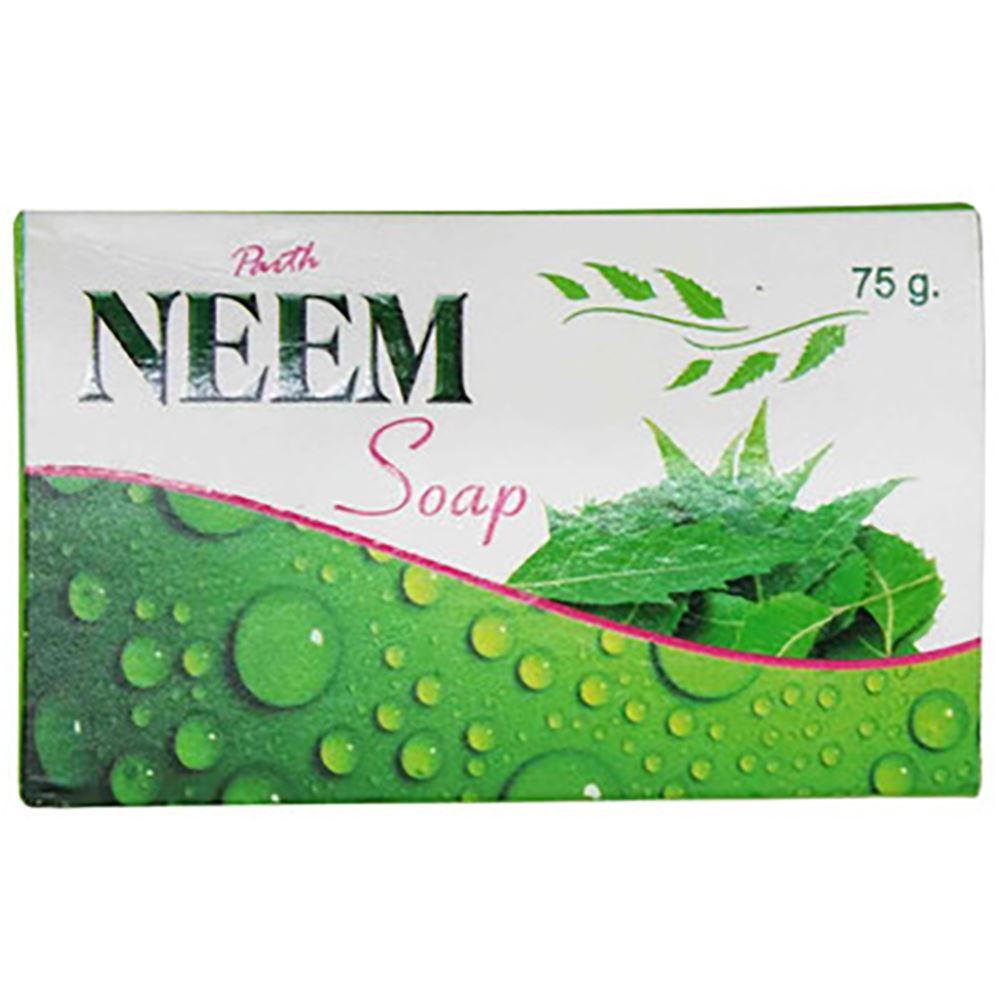 Parth Remedies Neem Soap (75g, Pack of 10)