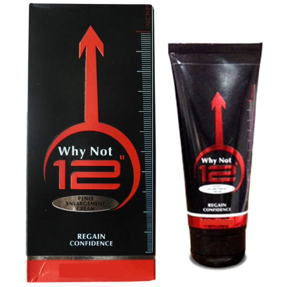 "Zee Laboratories Why Not 12"" Penis Enlargement Cream (100g)"