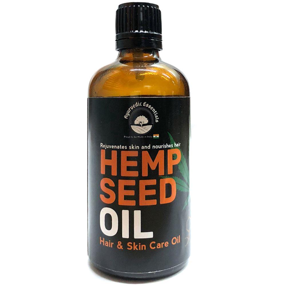 Ayurvedic Essentials Hemp Skin And Hair Oil (100ml)