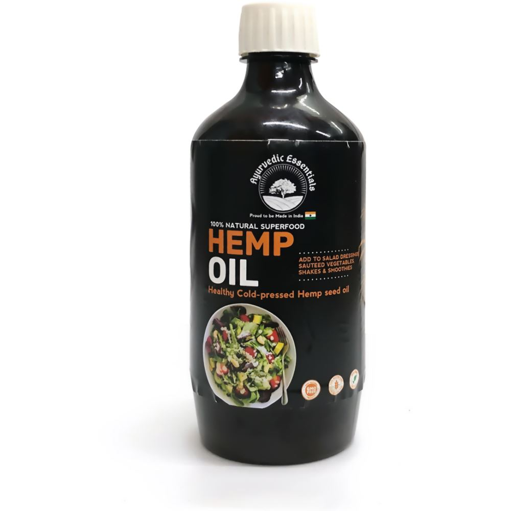 Ayurvedic Essentials Hemp Oil (500ml)