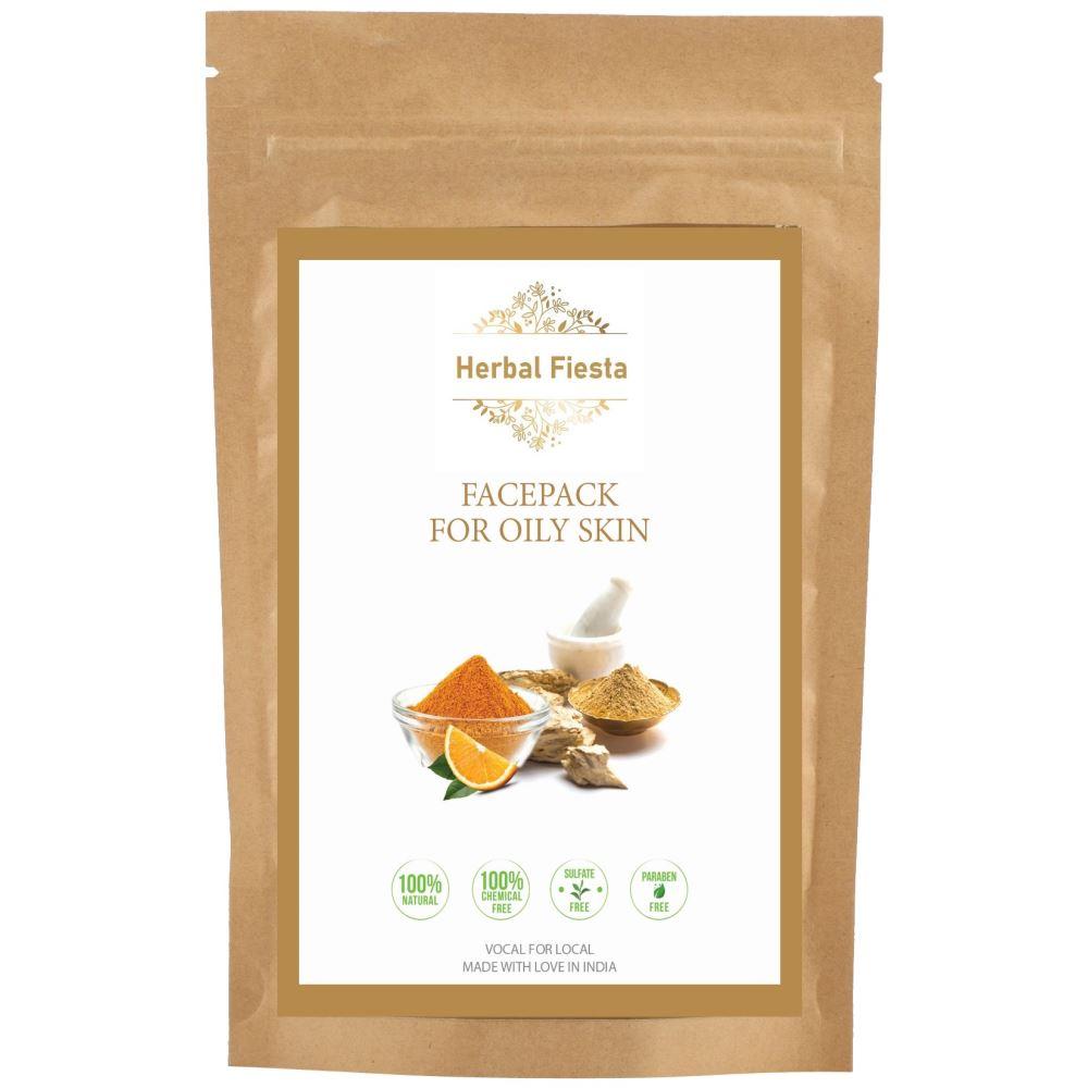 Herbal Fiesta Face Pack For Oily Skin  (200g)