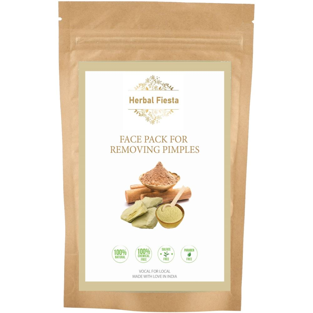 Herbal Fiesta Face Pack For Removing Pimples (200g)
