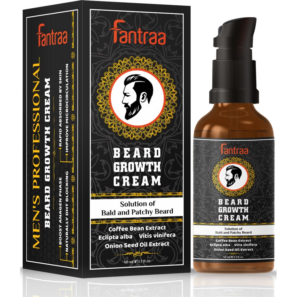 Fantraa Beard Growth Cream (50ml)