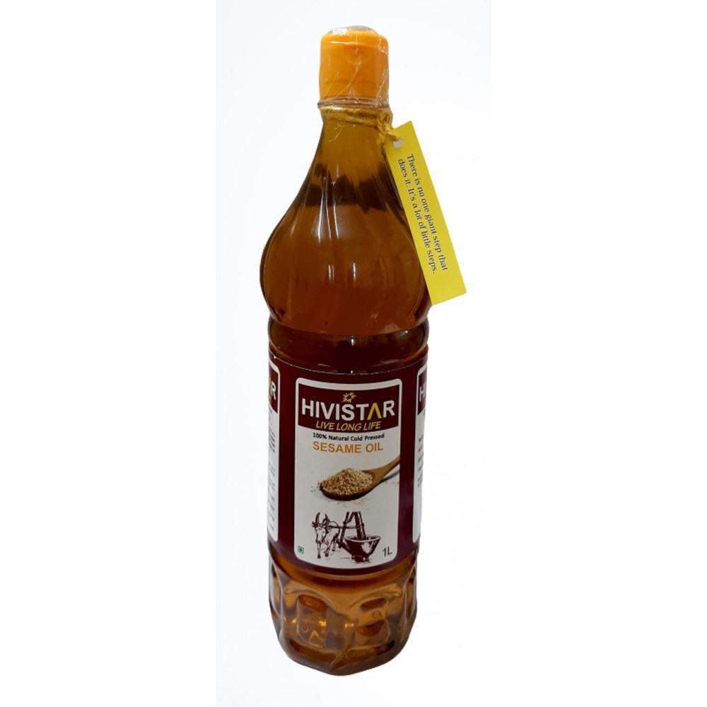 Hivistar Natural Cold Pressed Sesame Oil (1liter)