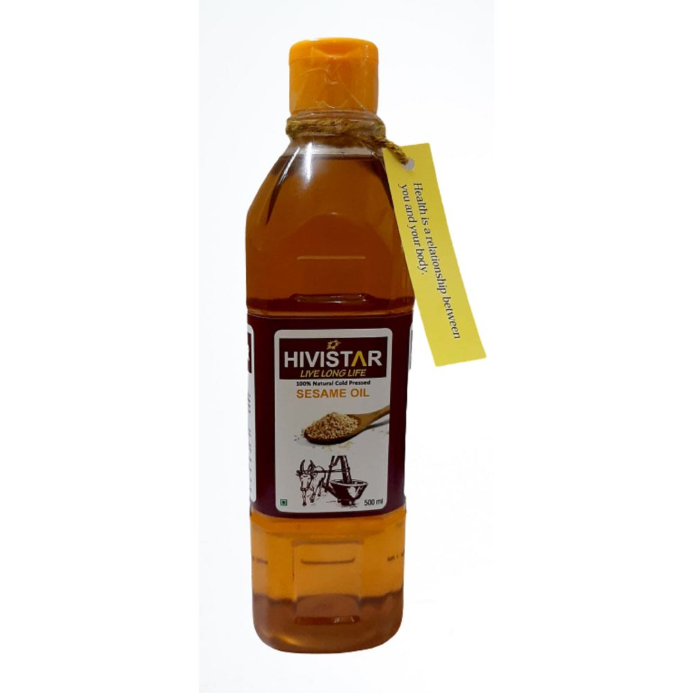 Hivistar Natural Cold Pressed Sesame Oil (500ml)