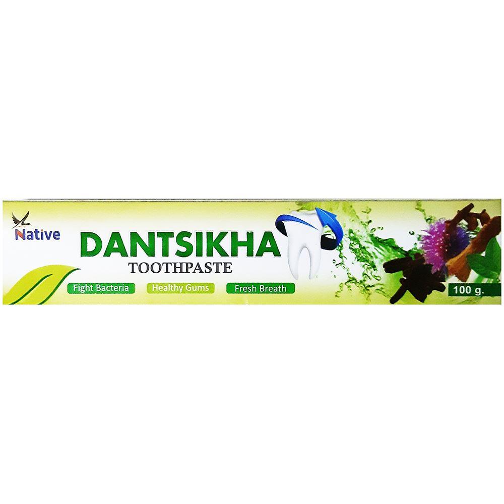 Nativenature Dantsikha Ayurvedic Toothpaste (100g, Pack of 5)