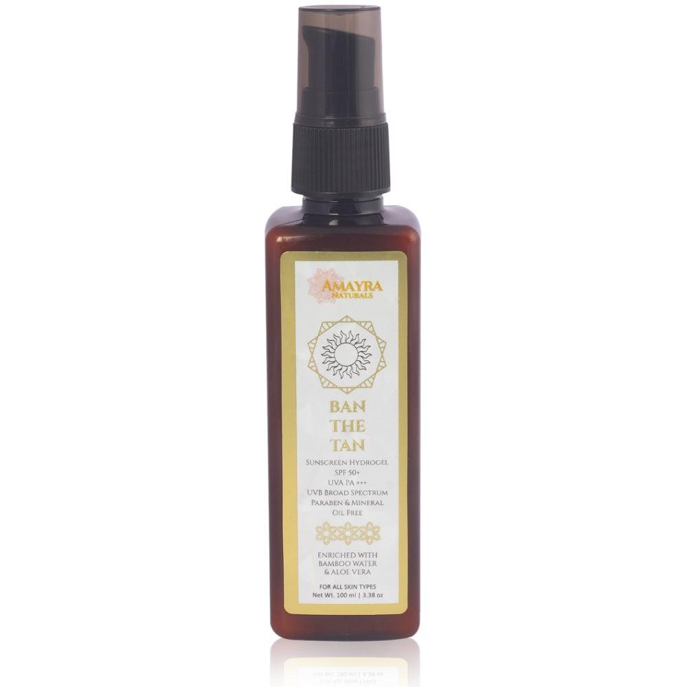Amayra Naturals Ban The Tan Sunscreen (100ml)