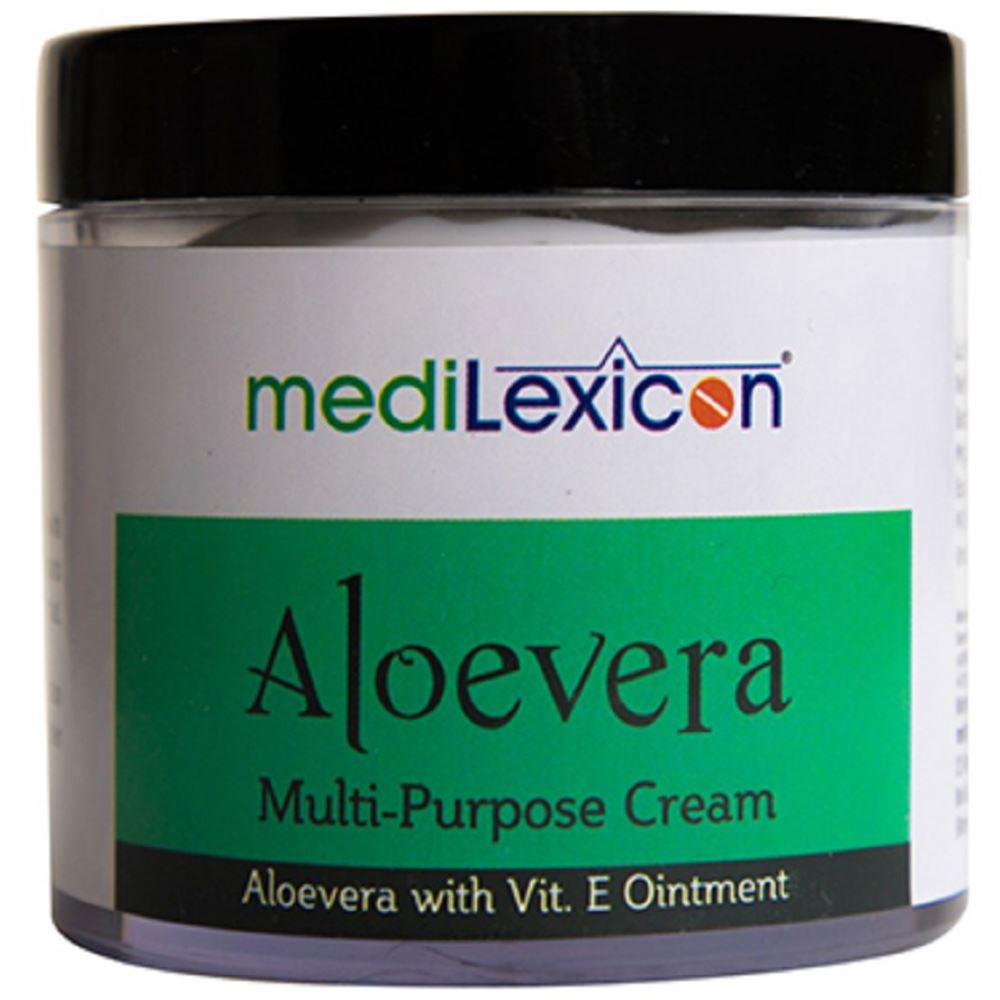 Medilexicon Aloe Vera Cream (100g)