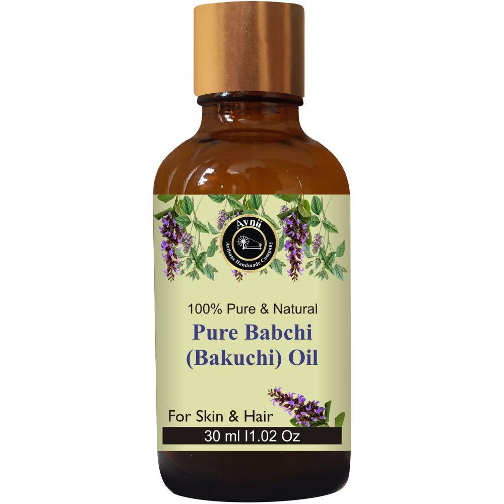 Avnii Organics Babchi Oil (Bakuchi Oil) For Hair & Skin Care (30ml)