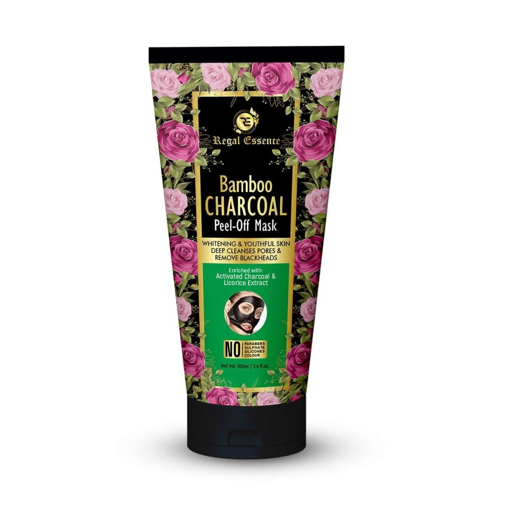 Regal Essence Bamboo Activated Charcoal Peel Off Mask (100ml)