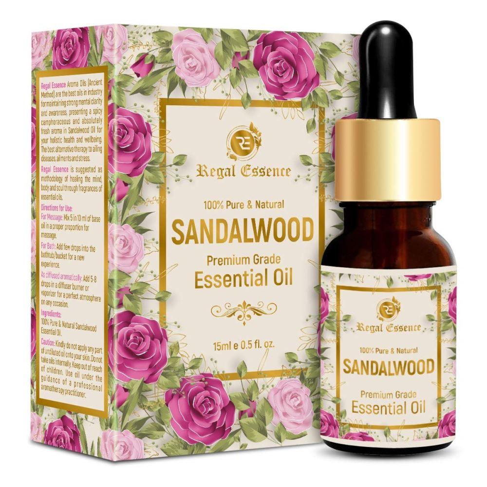 Regal Essence Sandalwood Essential Oil (15ml)