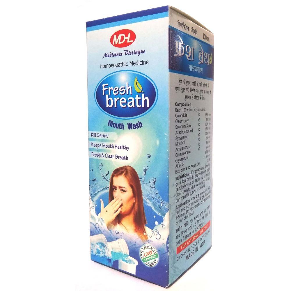 MDHL Fresh Breath Mouth Wash (120ml)