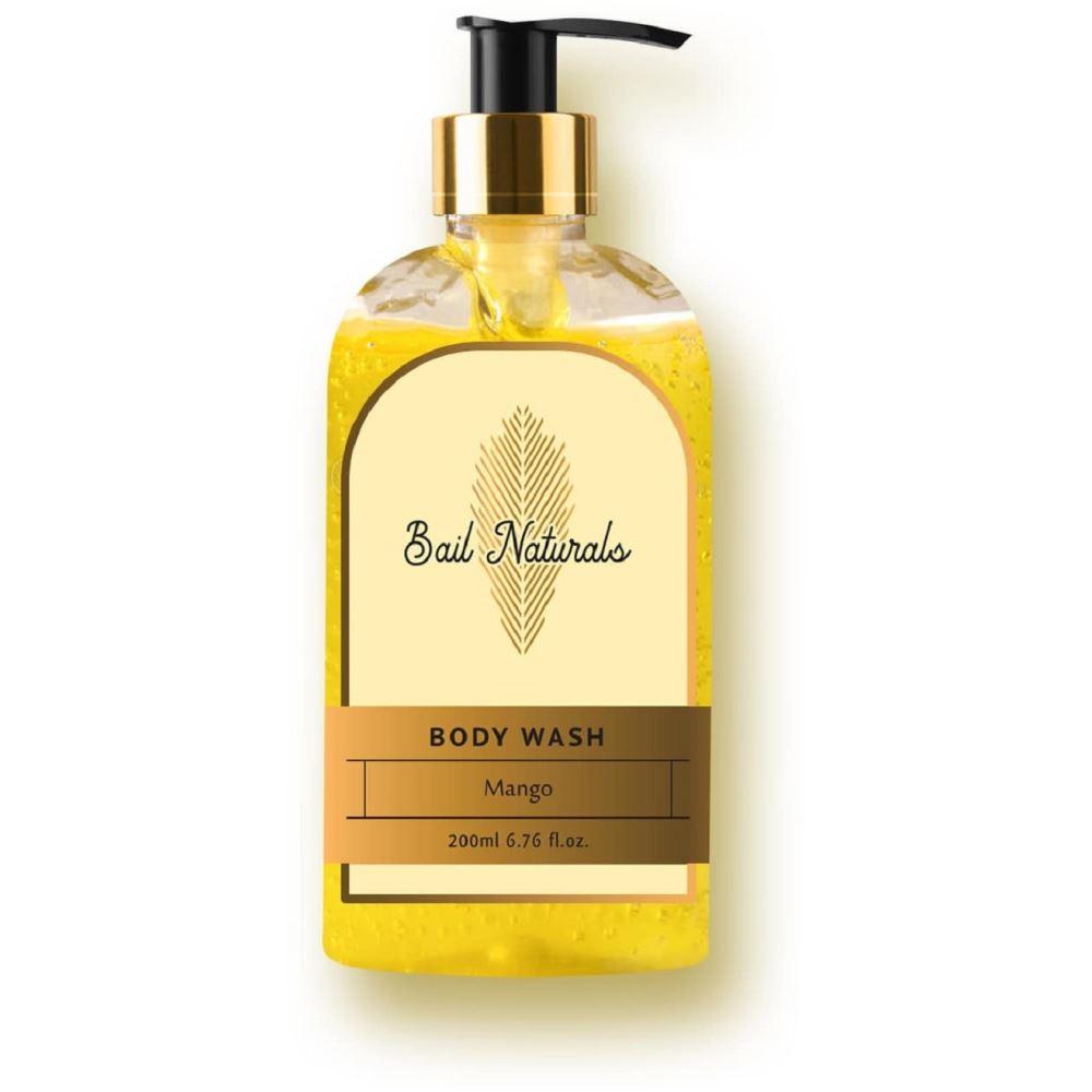 Bail Naturals Mango Body Wash For Smooth & Healthy Skin (200ml)