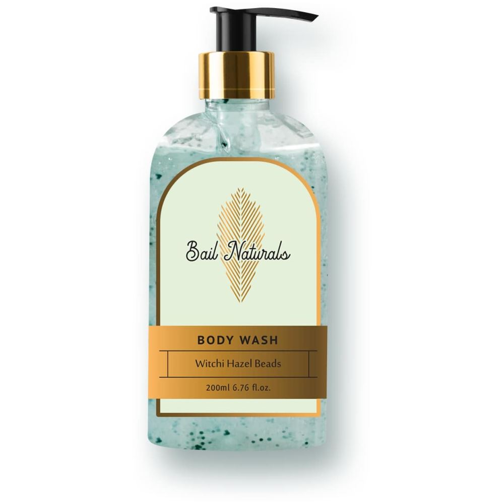Bail Naturals Witchi Hazel Beads Body Wash For Smooth & Healthy Skin (200ml)