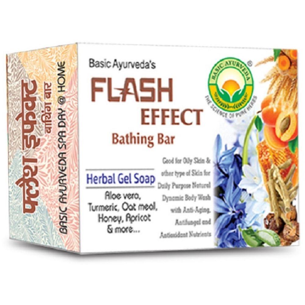 Basic Ayurveda Flash Effect Bathing Bar (75g)