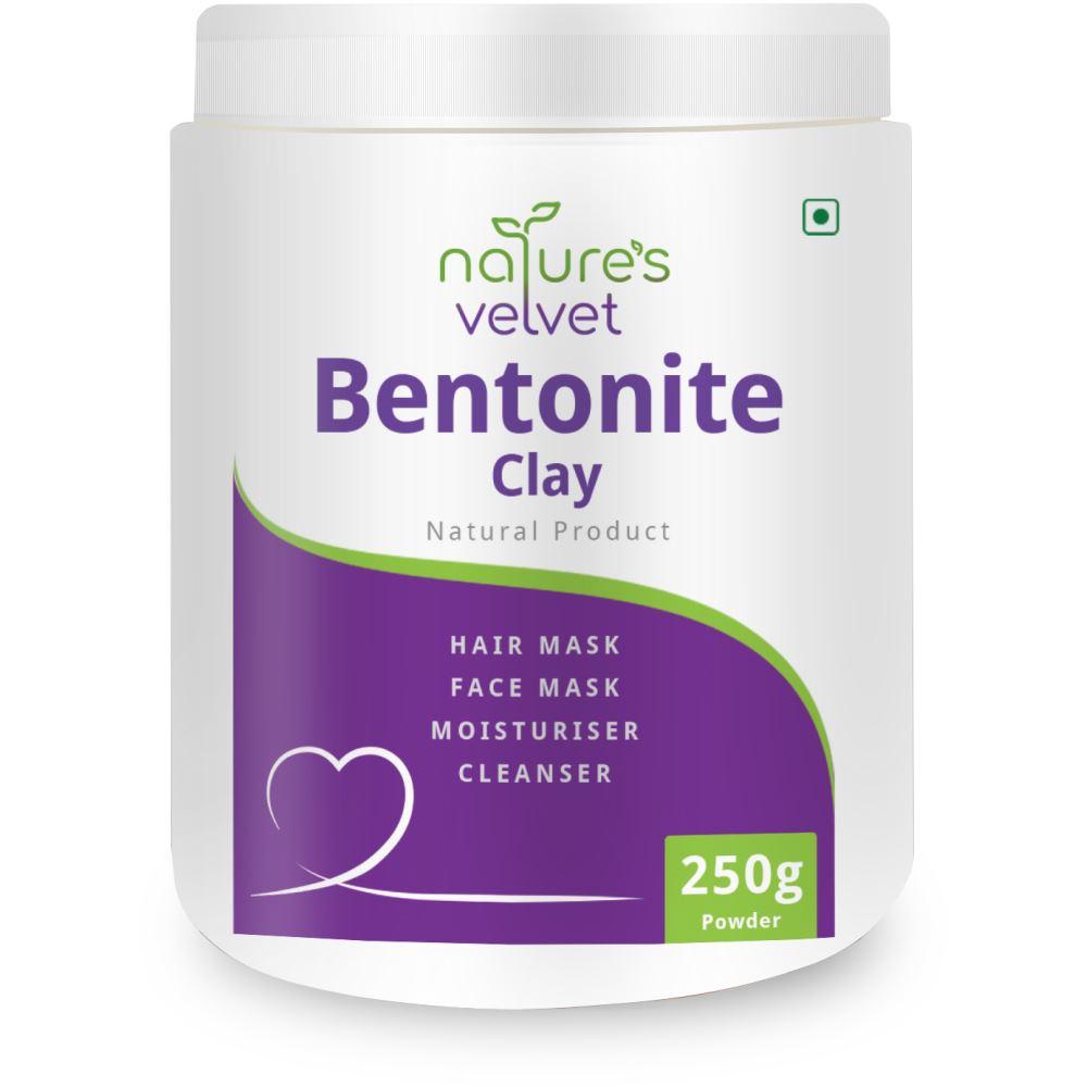 Natures Velvet Bentonite Clay Powder (250g)