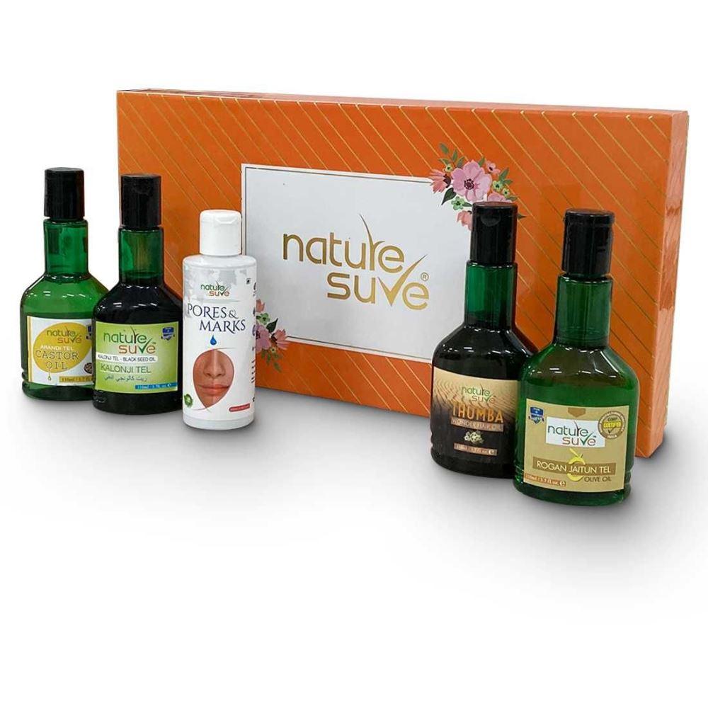 Nature Sure Gift Pack Premium Ayurvedic Oils Combo (1Pack)