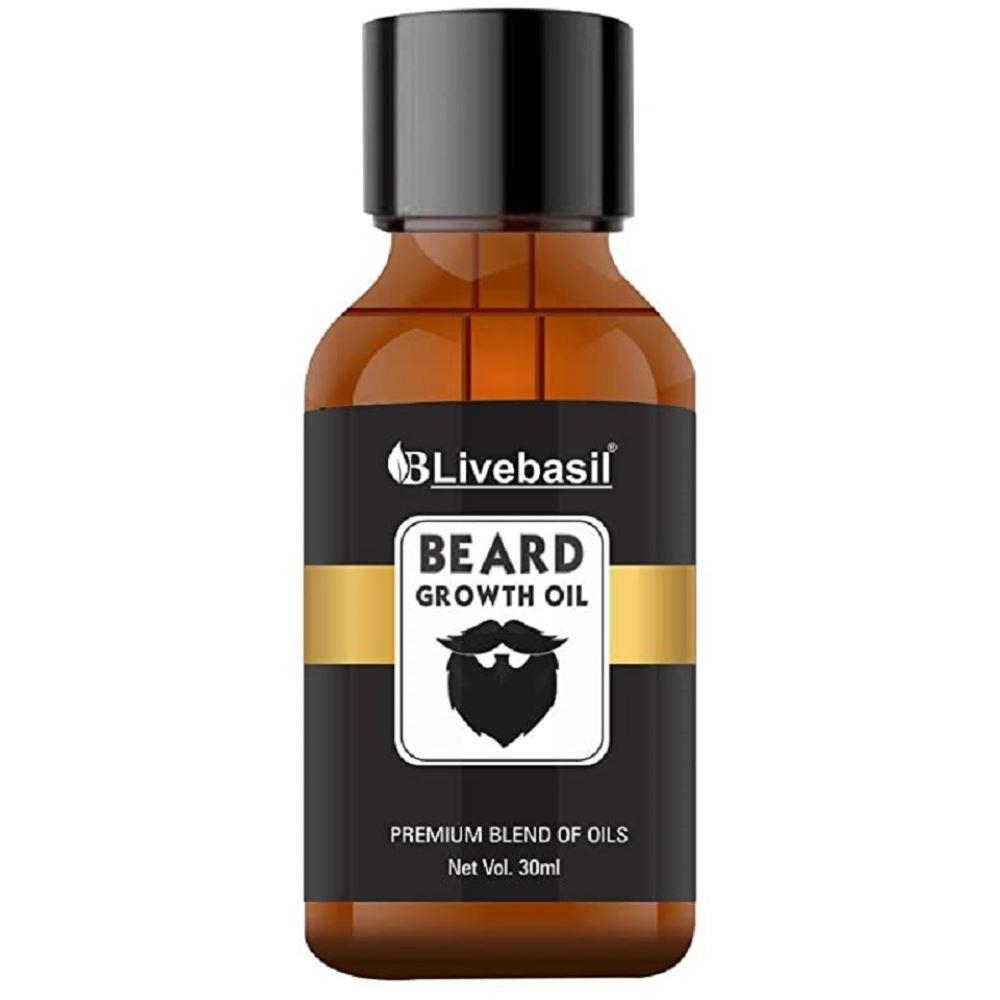 Livebasil Overseas Beard And Hair Growth Oil (30ml)