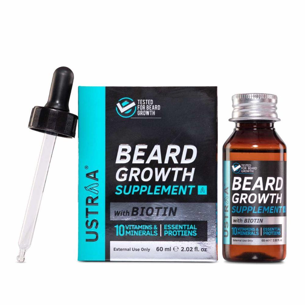 Ustraa Beard Growth Supplement (60ml)