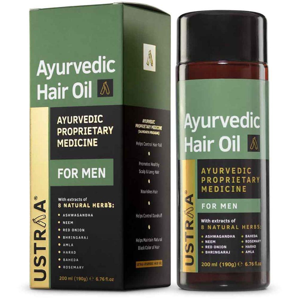 Ustraa Ayurvedic Hair Oil (200ml)