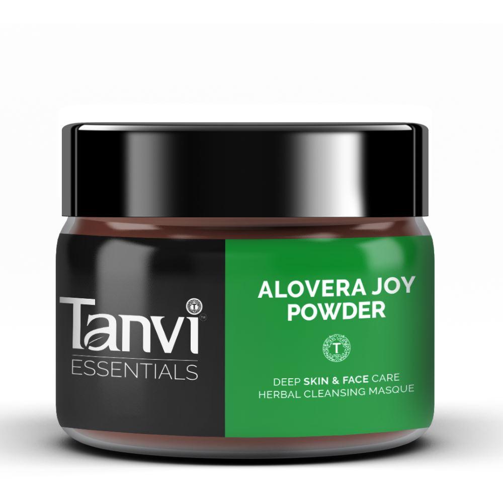 Tanvi Herbals Alovera Joy Powder Herbal Hair & Skin Pack (80g)