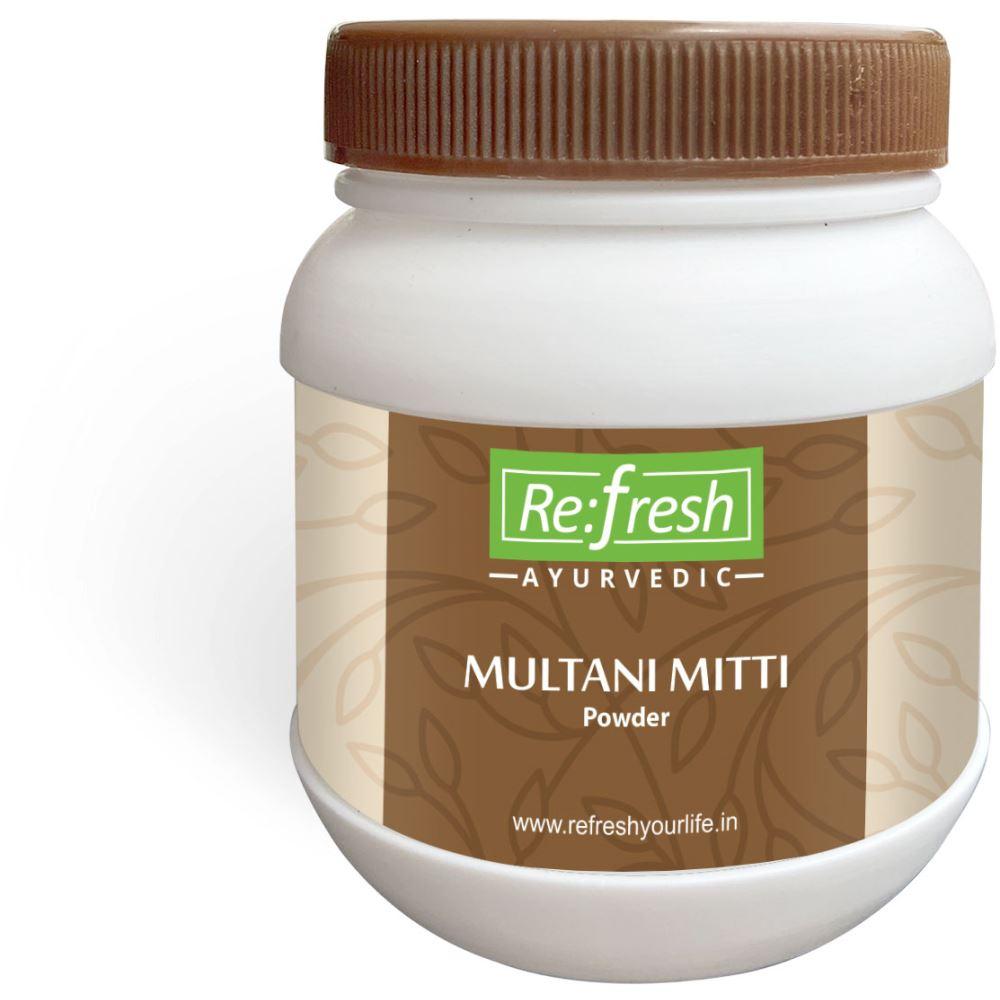 Refresh Ayurvedic Multani Mitti Powder (100g)