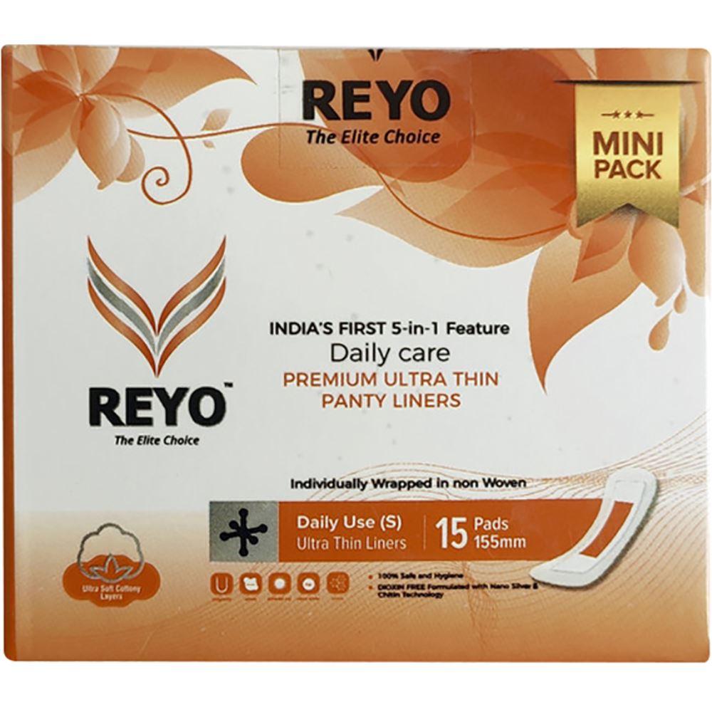Reyo Anion Premium Panty Liners (155MM) (15pcs)