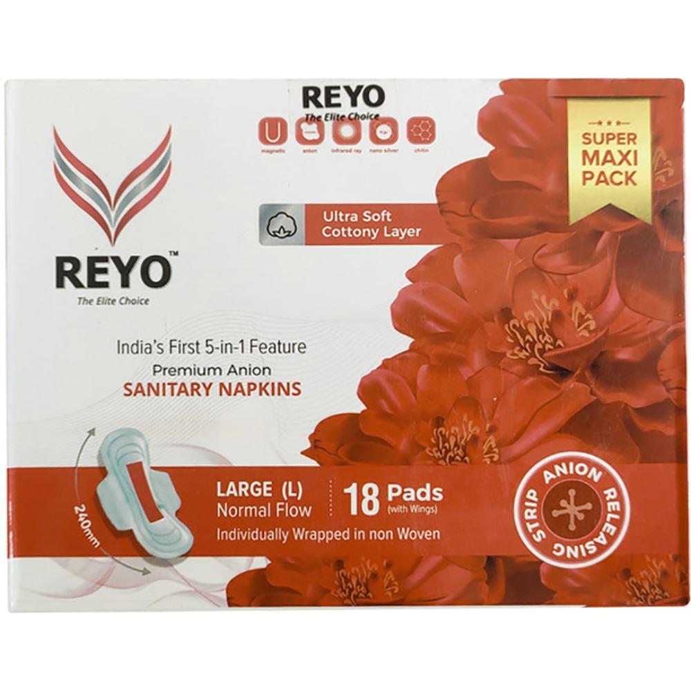 Reyo Anion Premium Sanitary Napkins (240MM) (18pcs)