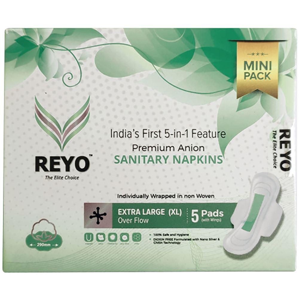 Reyo Anion Premium Sanitary Napkins (290MM) (5pcs)
