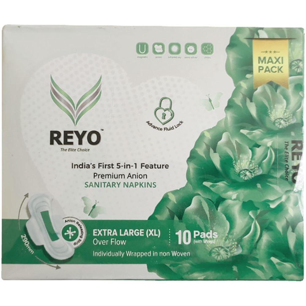 Reyo Anion Premium Sanitary Napkins (290MM) (10pcs)
