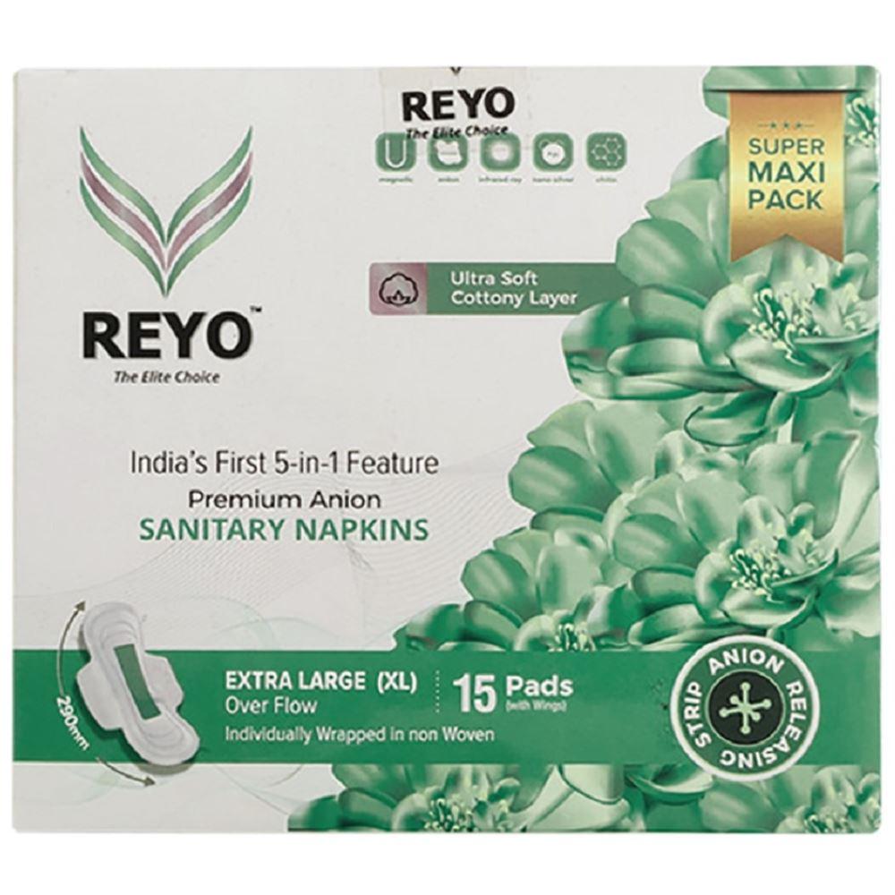 Reyo Anion Premium Sanitary Napkins (290MM) (15pcs)